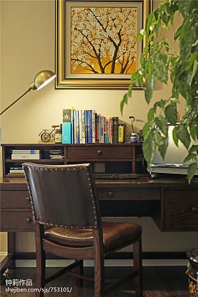 精美面积122平别墅卧室美式效果图片