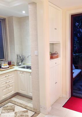 田园二居厨房装修设计效果图片大全
