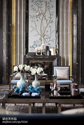 别墅室内环境设计图片客厅潮流混搭客厅设计图片赏析