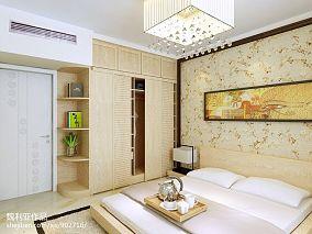 中式壁纸装修效果图片