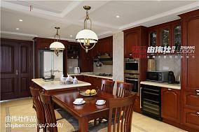 精美美式四居厨房装饰图片