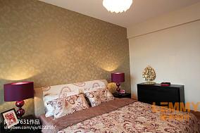 2018面积124平东南亚四居客厅装修设计效果图片
