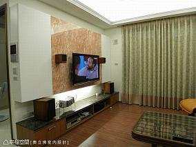 85平米现代风两居室内设计效果图