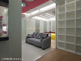 现代两居室室内电视背景墙效果图
