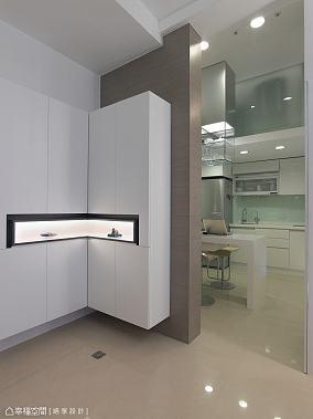 低调90平米小户型浪漫的主卧室卫生间