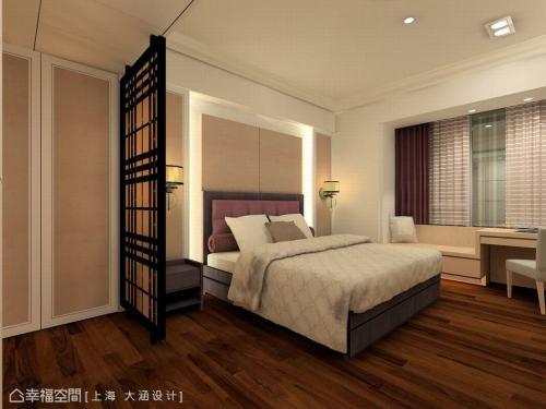 主卧室(1)功能区窗帘