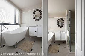 轻奢996平田园别墅装饰美图卫生间1图美式田园设计图片赏析
