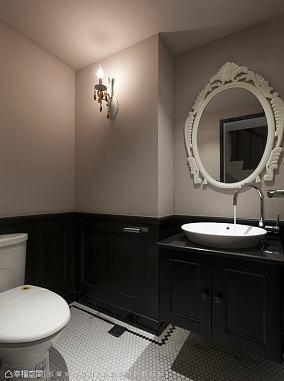 简洁511平田园别墅设计美图卫生间2图美式田园设计图片赏析