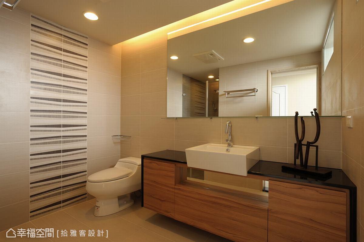 卫浴功能区美式田园功能区设计图片赏析