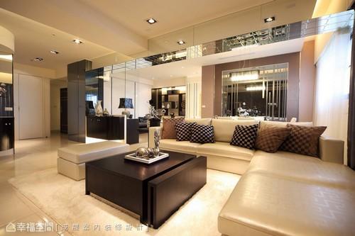 公共空间客厅现代简约客厅设计图片赏析