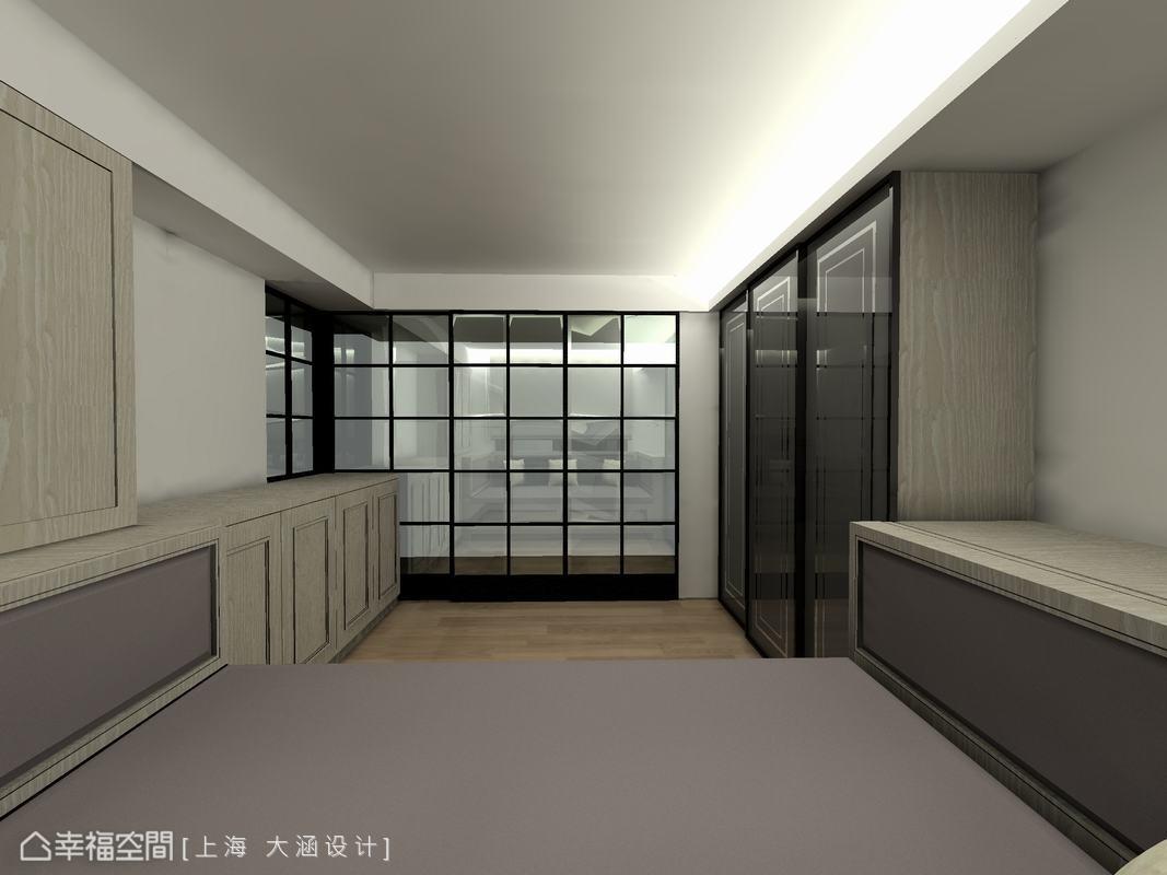 玻璃门功能区美式经典功能区设计图片赏析