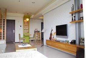 绿色装修厨房橱柜图片
