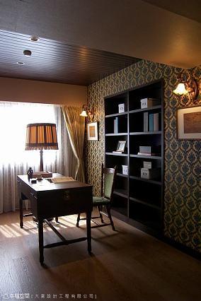 田园欧式风格别墅卧室装修效果图