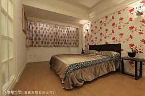 大气小清新风格的卧室