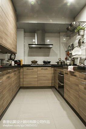 2018精选现代复式厨房设计效果图