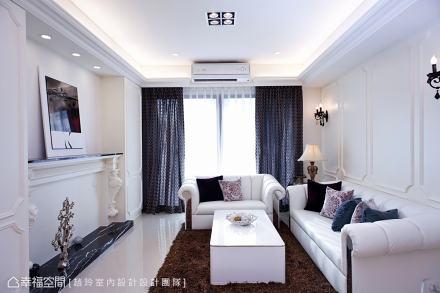 电视主墙_1503850_1818069151-200m²美式经典家装装修案例效果图