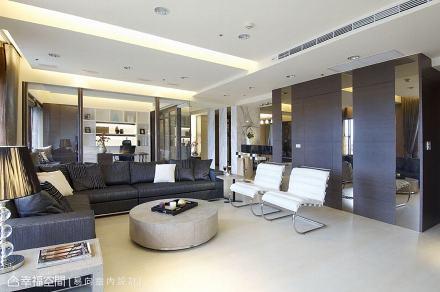 隐藏客卫门_1505016_1819234201-500m²现代简约家装装修案例效果图