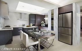 餐厅201-500m²现代简约家装装修案例效果图