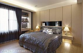 主卧室201-500m²现代简约家装装修案例效果图