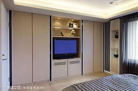 电视墙201-500m²现代简约家装装修案例效果图