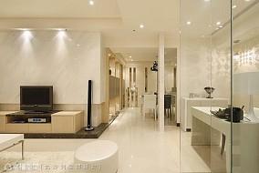 卫生间玻璃门隔断瓷砖效果图