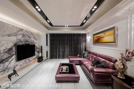 电视墙_1509703_1823921121-150m²美式经典家装装修案例效果图