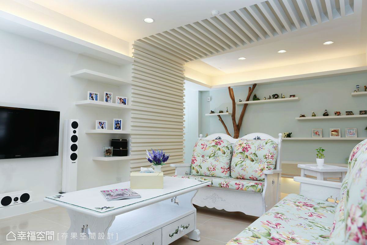 造型横栅卧室美式田园卧室设计图片赏析