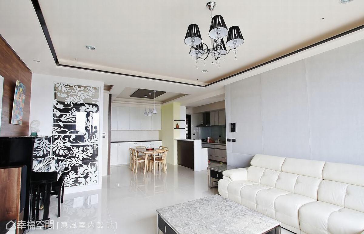 沙发背墙功能区现代简约功能区设计图片赏析