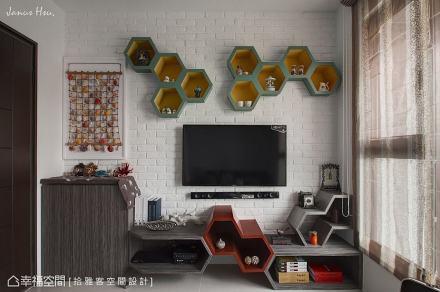 电视主墙_1513445_182766360m²以下潮流混搭家装装修案例效果图
