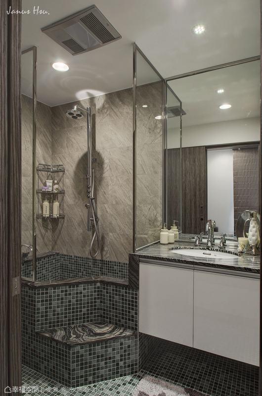 卫浴功能区潮流混搭功能区设计图片赏析
