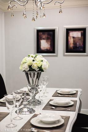 温馨268平新古典样板间装饰图片样板间美式经典家装装修案例效果图