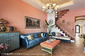 客厅客厅美式田园设计图片赏析