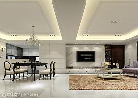 宜家风格家居电视背景墙设计效果图