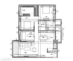 欧式田园风格别墅客厅装修设计