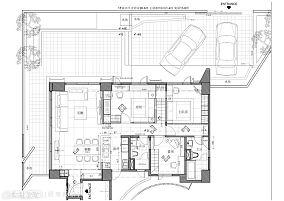 都市现代化客厅装修效果图