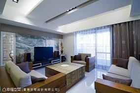中式黑色风格装修吧台效果图