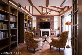 热门田园别墅客厅效果图片客厅美式田园设计图片赏析