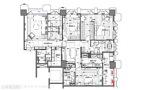 美式轻古典客厅装修布置