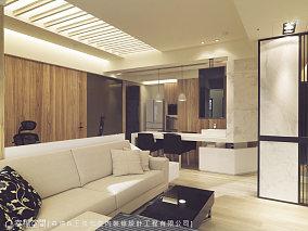 灵动居所的现代风格客厅图