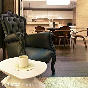 清新中式茶室装潢