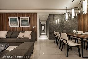 简约后现代客厅设计