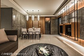 现代简约别墅客厅室内效果图