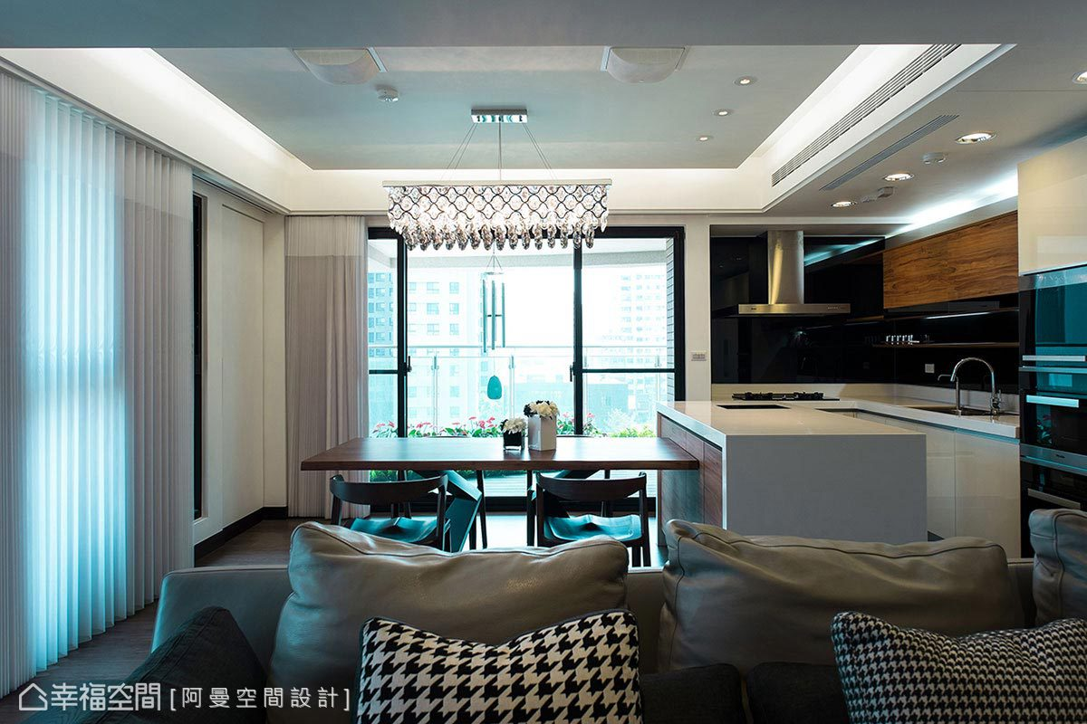 楼房装修样板房设计客厅现代简约客厅设计图片赏析