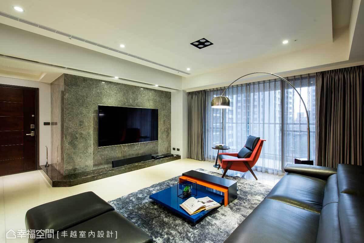 室内装修现代简约效果图图集客厅现代简约客厅设计图片赏析