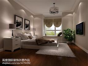 2018面积85平公寓现代装修设计效果图片大全