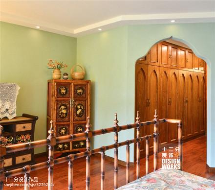 热门复式客厅田园装修图片客厅