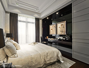 欧式风格卧室窗户设计