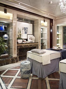 精选卫生间中式欣赏图片大全样板间中式现代家装装修案例效果图