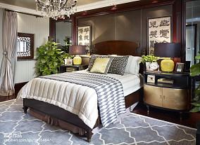 精美298平中式样板间装修美图样板间中式现代家装装修案例效果图