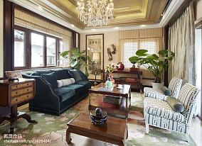 精美中式客厅装饰图片大全样板间中式现代家装装修案例效果图